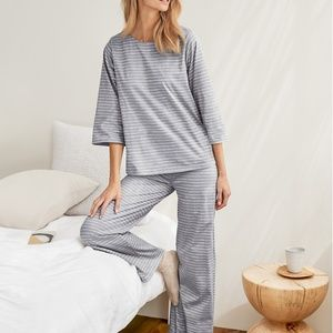 Organic Cotton Pajama Set from Garnet Hill -Size M